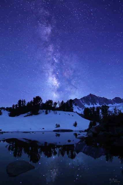 Milky Way Near Ruwau Lake, Sierra Nevada