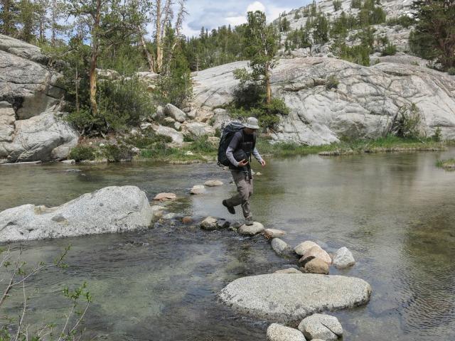 Stream Crossing, Sabrina Basin