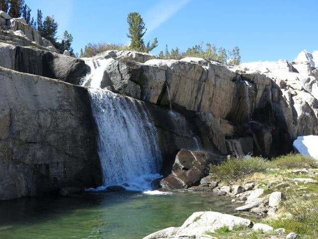 Waterfall near Sailor Lake