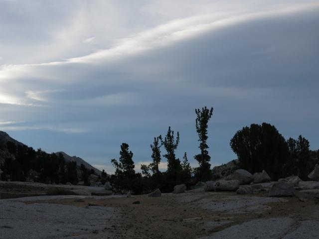 Cloudy Evening, Sailor Lake