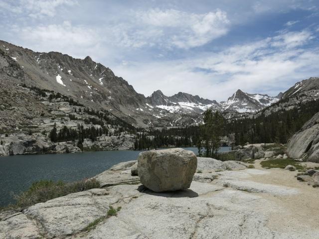 Blue Lake, Sierra Nevada