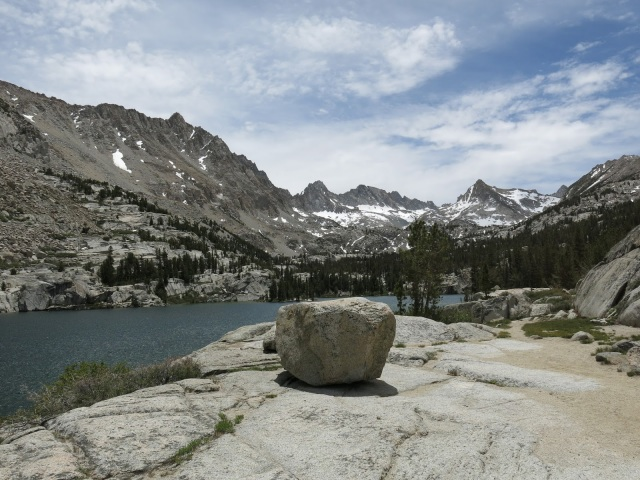 Blue Lake, Sierra Nevada