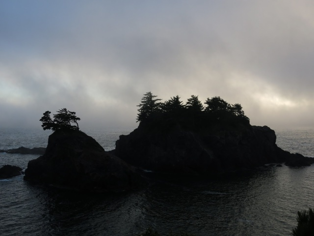 Secret Beach in the Fog, Brookings, OR