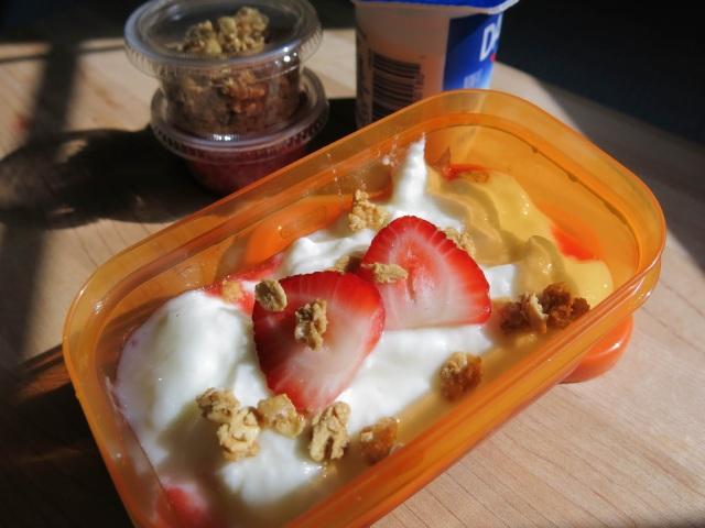Premade Yogurt Parfait