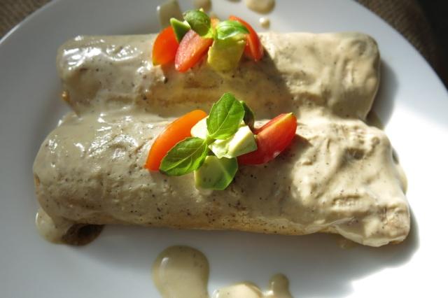 Savory Vegetable Enchiladas