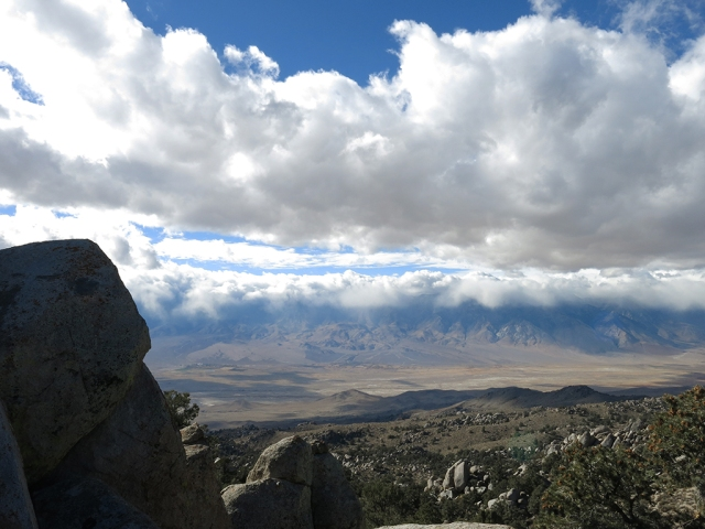 View of Owens Valley