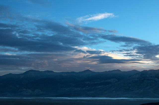 Clouds over Panamint Valley