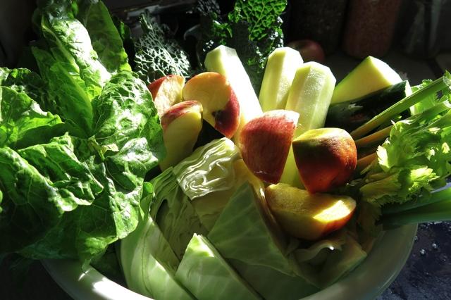 Juicing Veggies