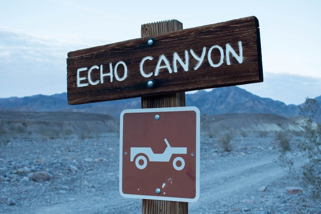 Echo Canyon Sign