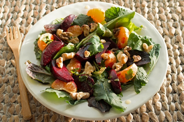 Roasted Beet and Mandarin Orange Salad 2