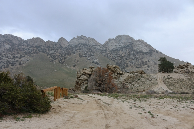 Owens Peak Trailhead