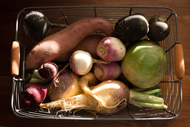 Winter Root Vegetables