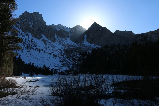 Sundown at Flower Lake