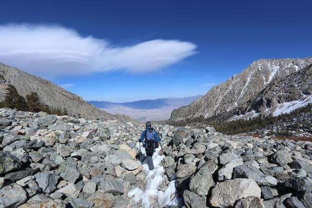 Hiking Kearsarge Trail