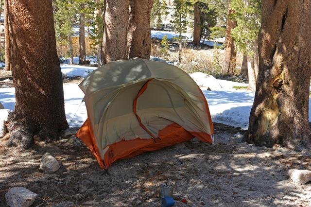 Windblown Tent