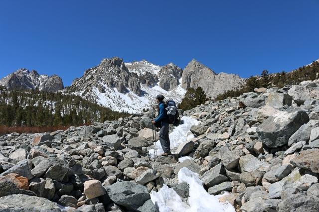 Hiking Kearsarge Trail 2
