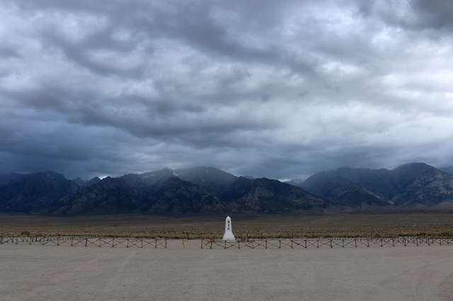 Moody Skies at Manzanar
