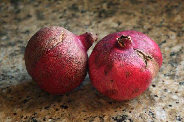 Cracked Pomegranates
