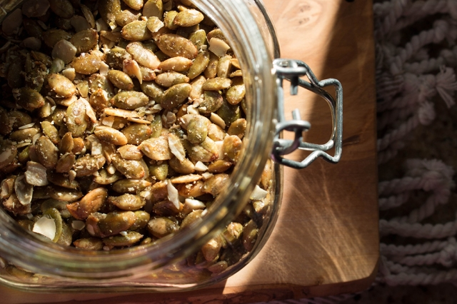 Maple Roasted Pumpkin Seeds 2