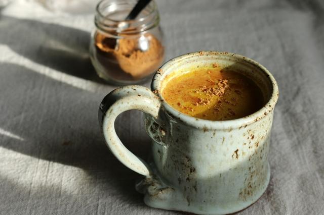 Chai-Spiced Turmeric Milk 3