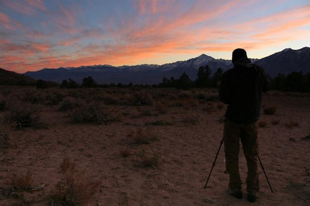Capturing Sunset