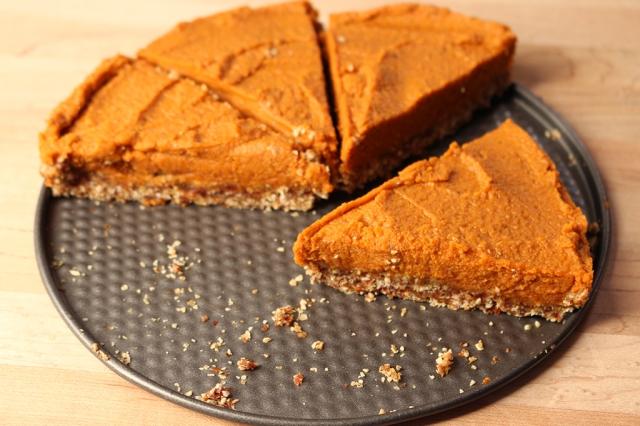 Pumpkin-Chai Pie