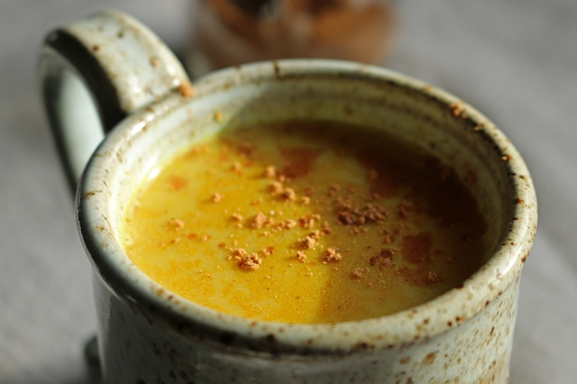 Chai-Spiced Turmeric Milk
